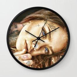 Tattoo Model Painting | Tattoo Shop Wall Clock