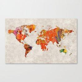 World Map 53 Canvas Print