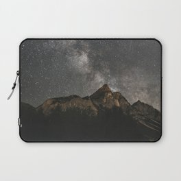 Milky Way Over Mountains - Landscape Photography Laptop Sleeve