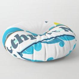Southport - North Carolina. Floor Pillow