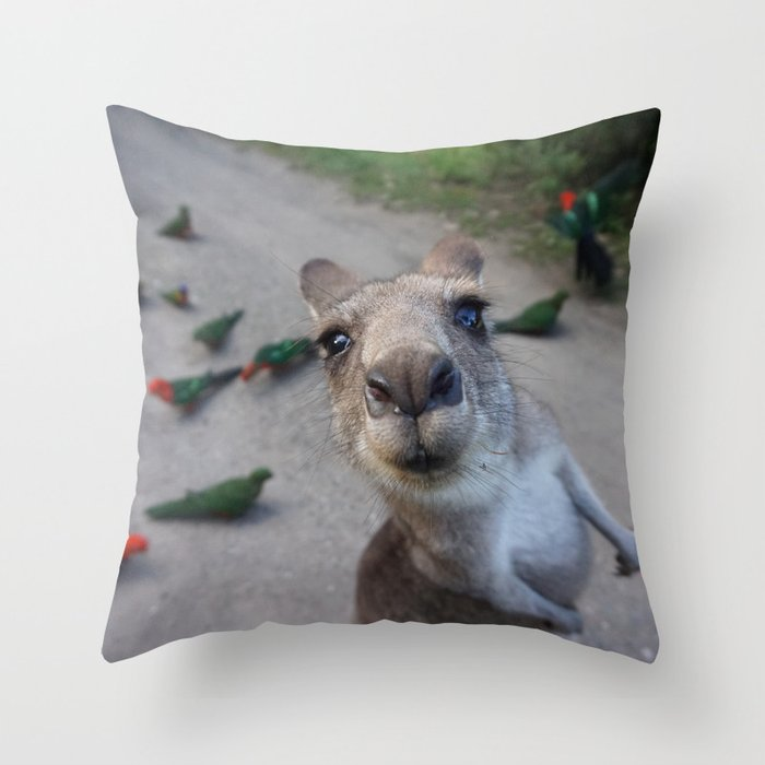 Well hello there! Throw Pillow