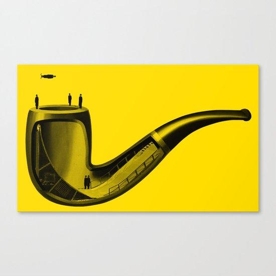 Half Pipe Canvas Print