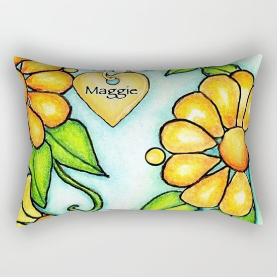 Maggie 'n Me Rectangular Pillow
