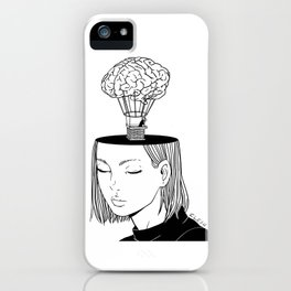 Free Thought iPhone Case