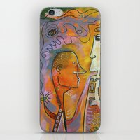 pills iPhone & iPod Skins featuring pills by Amy Chace