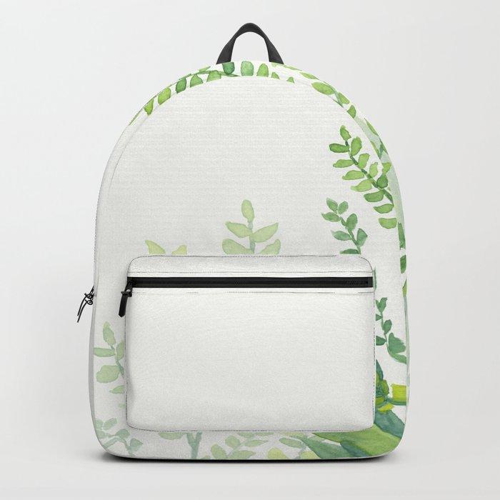 Botanical vibes 06 Backpack