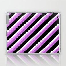 Stripe Me Up In Pink Laptop & iPad Skin