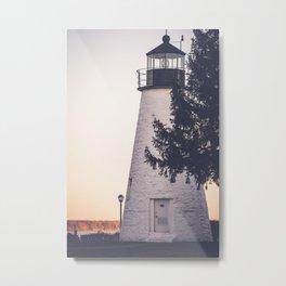 Lighthouse on the Chesapeake Metal Print