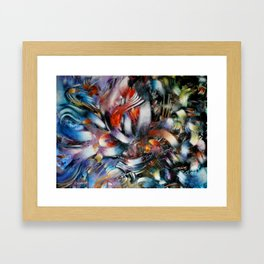 Azahares que Estallan  Framed Art Print