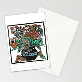 """Australian Gum Blossoms"" by Margaret Preston Stationery Cards"
