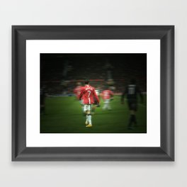 Ronaldo Framed Art Print