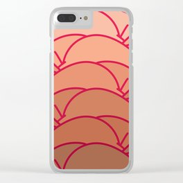 Summer Bums Clear iPhone Case