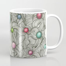 Embedded Color Spheres Coffee Mug