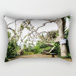 Secret Garden - horizontal side view Rectangular Pillow