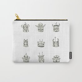 Horned Heads Carry-All Pouch