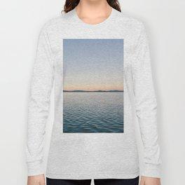 Sunset sea landscape Long Sleeve T-shirt