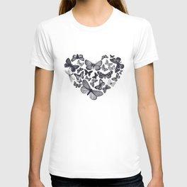 BUTTERFLY LOVE MONO T-shirt