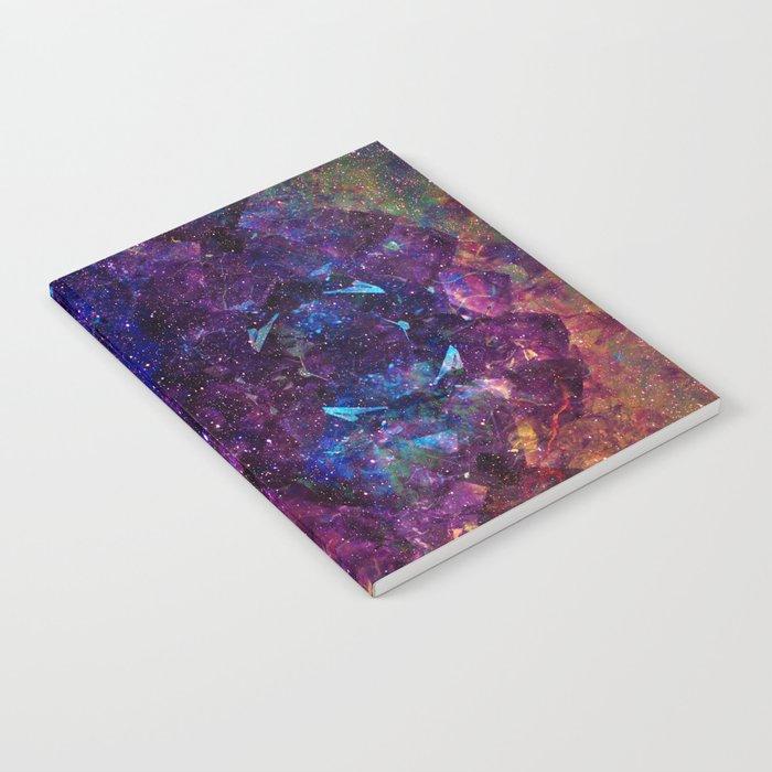 Rainbow Aura Quartz NebulÆ Notebook