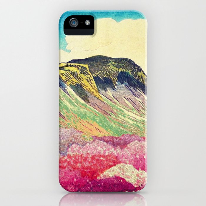 walk towards manayama iphone case