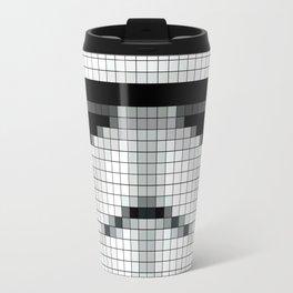 Stormtrooper : 8 Bit Pixel Travel Mug