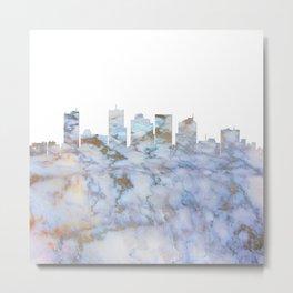 Phoenix Skyline Arizona Metal Print