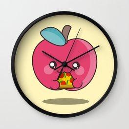 Unhealthy food Wall Clock