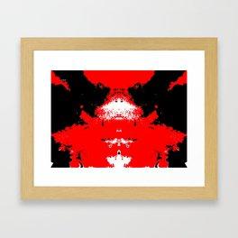 Beetle by Early Morning Lamplight Framed Art Print