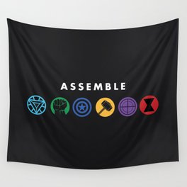 Assemble Wall Tapestry