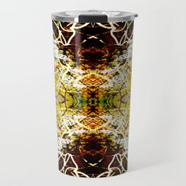 Chaos Tree Kaleidoscope 1 Travel Mug