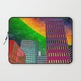 the colored city -2- Laptop Sleeve