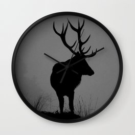 Wildlife, Monarch Of The Park Wall Clock