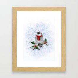 Happy Holly Jays! Framed Art Print