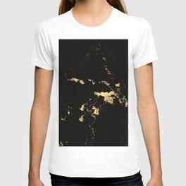 Black Marble #5 #decor #art #society6 T-shirt