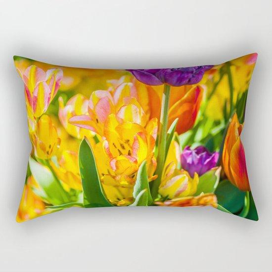 Tulips Enchanting 01 Rectangular Pillow