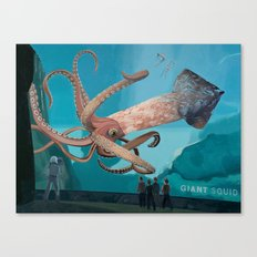 The Squid Canvas Print