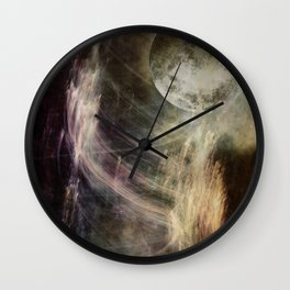VISION QUEST LOG 1 Wall Clock