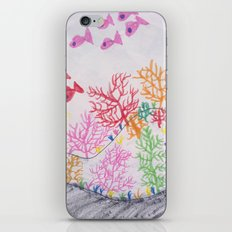 corals drawn by pascal iPhone & iPod Skin