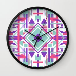Tech Ethnic 08 Wall Clock