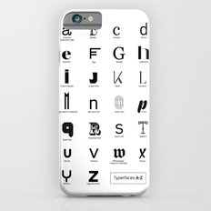 Typerfaces A-Z  iPhone 6s Slim Case
