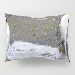 King Penguin Reflection Pillow Sham