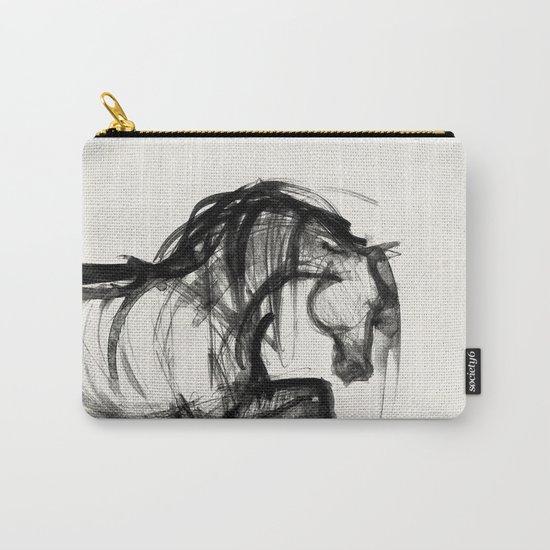 Horse (Saklavi Portrait) Carry-All Pouch
