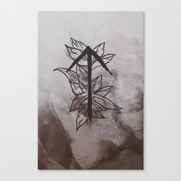 Warrior Rune Canvas Print