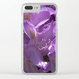 Rhododendron Clear iPhone Case