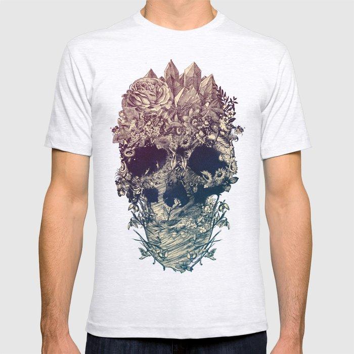 Skull Floral T-shirt