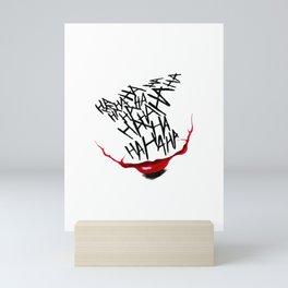 Why So Serious Mini Art Print