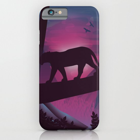 So Peaceful I Can Hear My Blood iPhone & iPod Case