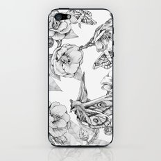 Moths & Camellias iPhone Skin