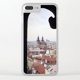 Window to Prague Clear iPhone Case