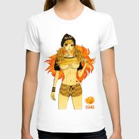 cage T-shirts featuring Leo Cage by Chandelina