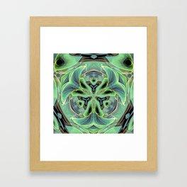 Hosta Ornate Framed Art Print
